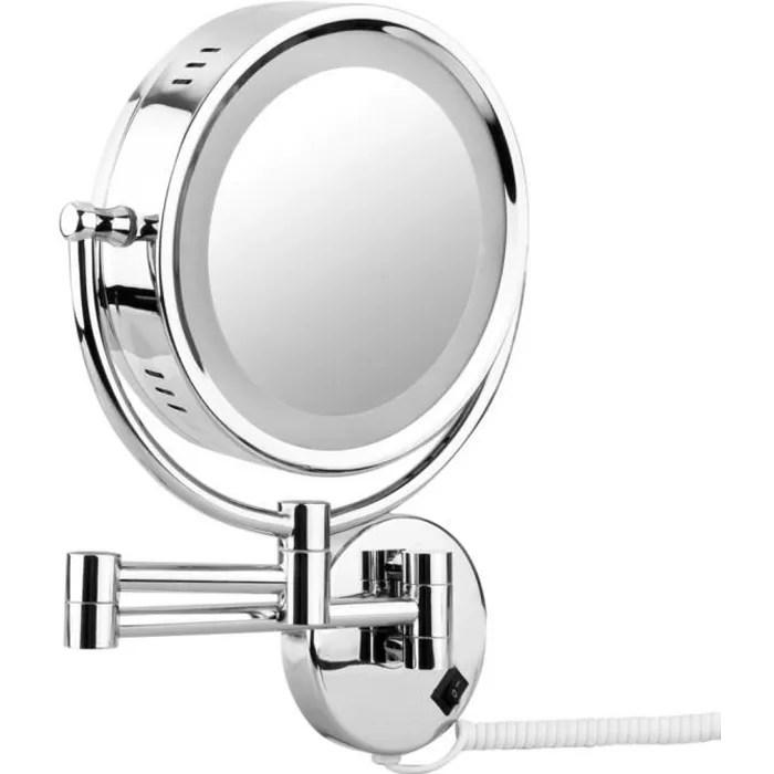 Miroir Grossissant X10 Mural Achat Vente Pas Cher