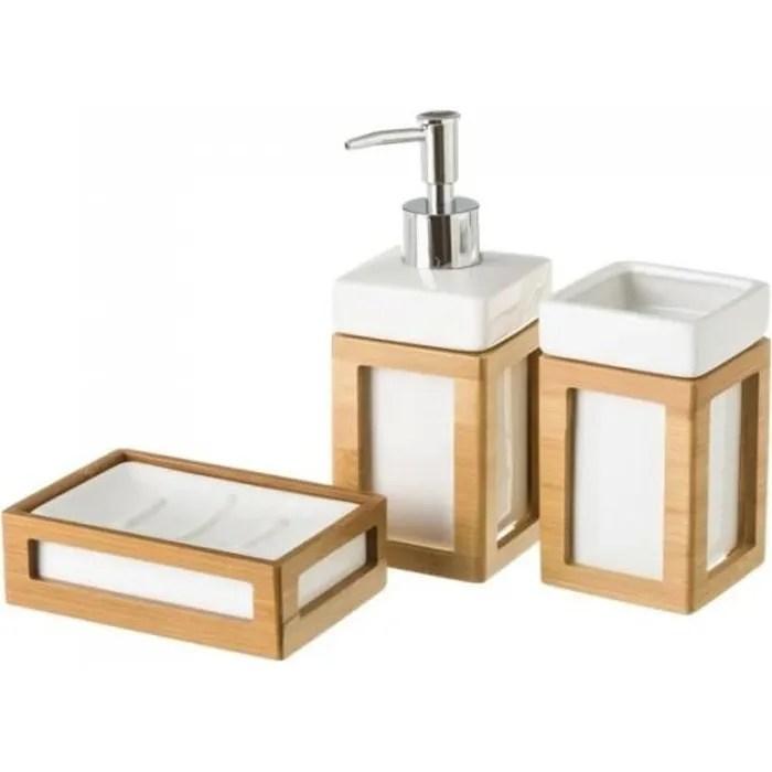 set salle de bain ceramique blanc et