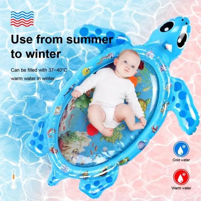 swonuk tapis d eveil bebe tapis d eau gonflable en