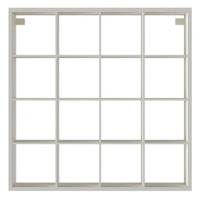 ikea kallax etagere blanc 147 x 147 cm