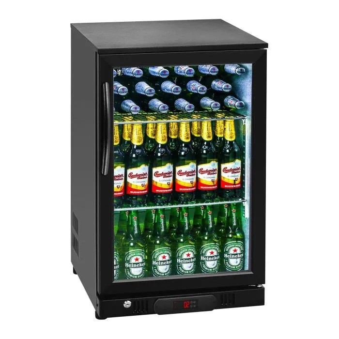 frigo boisson mini bar refrigerateur royal catering rcgk 108c 108l interieur aluminium plage de temperature 2 10 dc