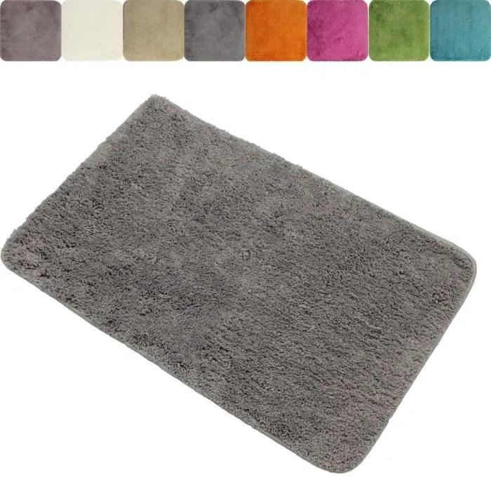 tapis de salle de bain xxl anti glissant 70 x 120