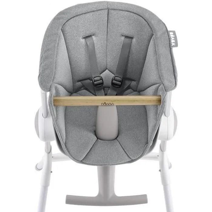 beaba assise chaise haute bebe up down grey