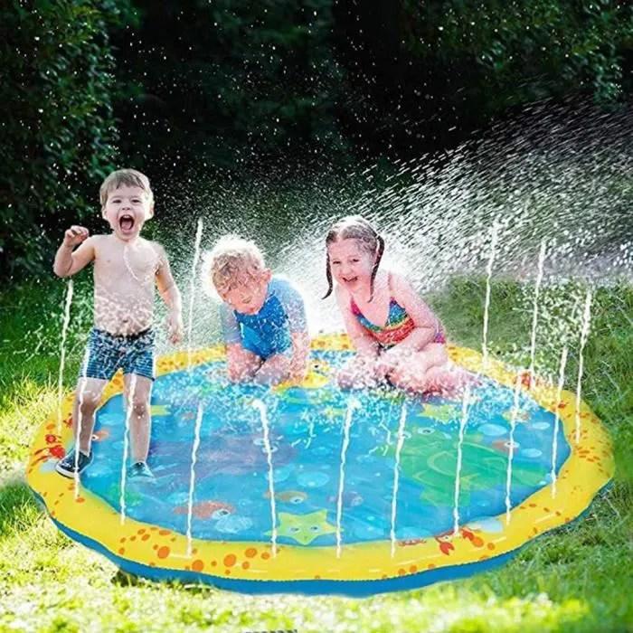 eau piscine pvc durable gonflable jeux