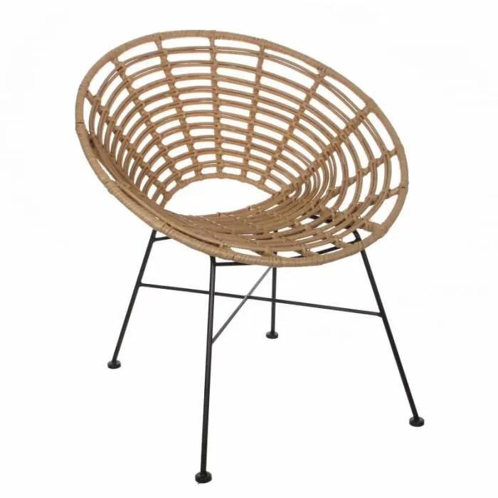 fauteuil rond de jardin interieur