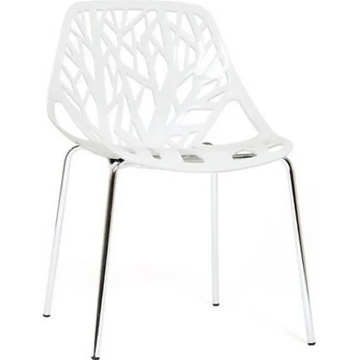 chaise design blanche lily designetsamaison