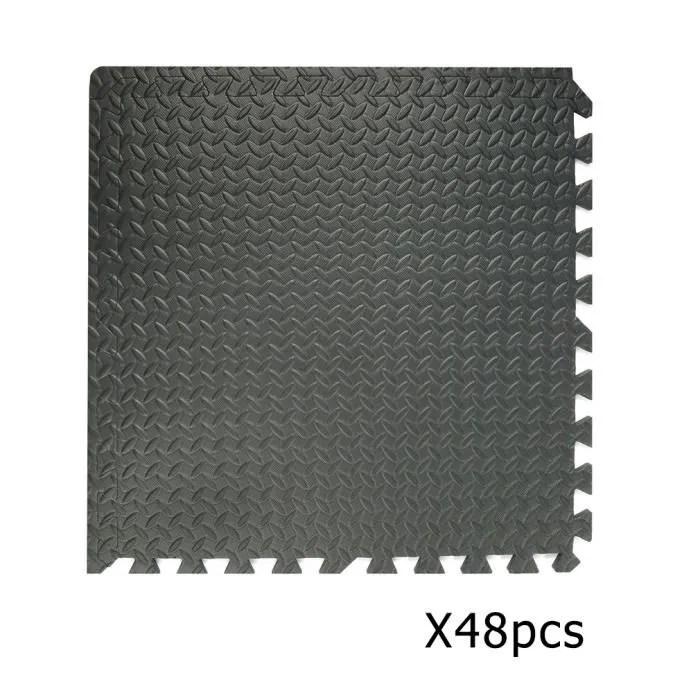 48 x tapis de protection de sol en mousse 60x60 cm