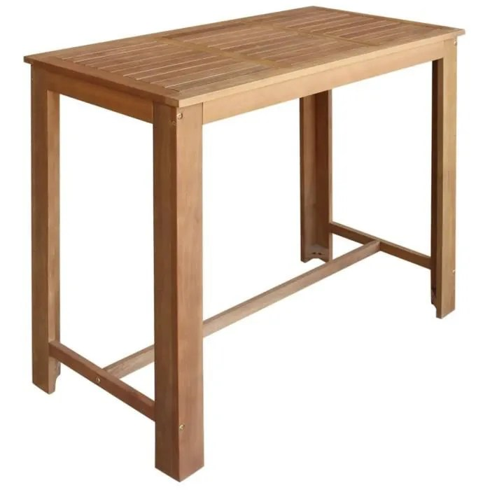 table haute 120 cm