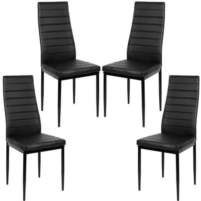 4 chaises de salle a manger