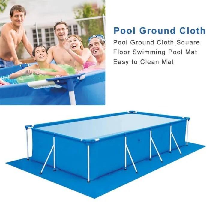 330 230cm tapis de sol pour piscine avec multi pol