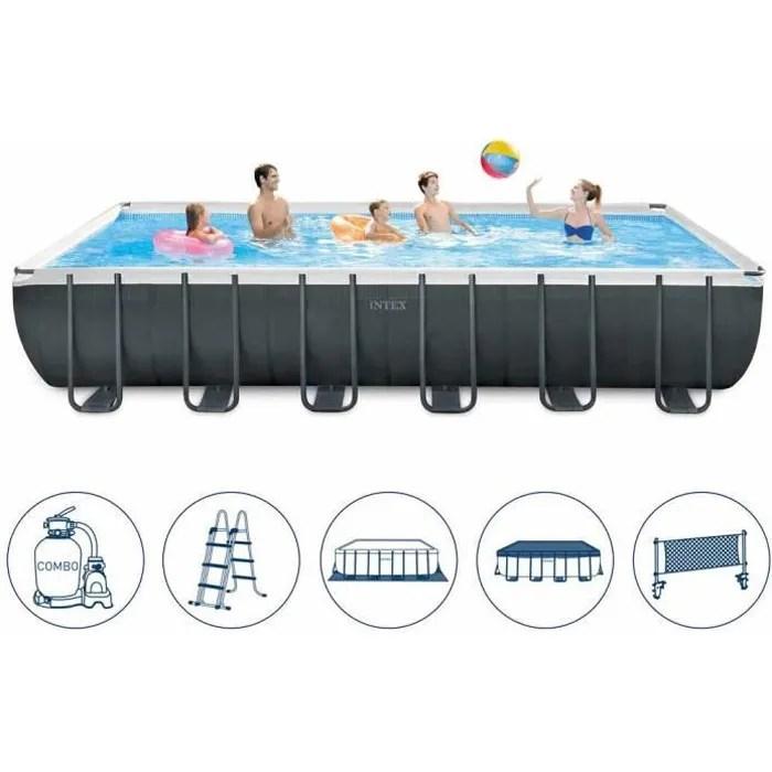 piscine hors sol intex 26368 ex 26362 ultra grand
