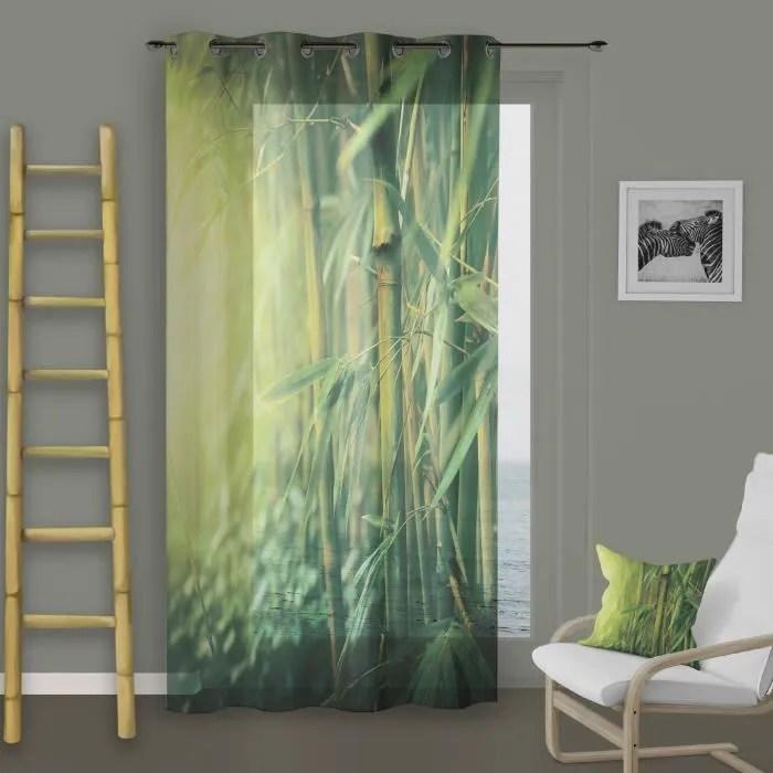 bambou 140x260 cm vert