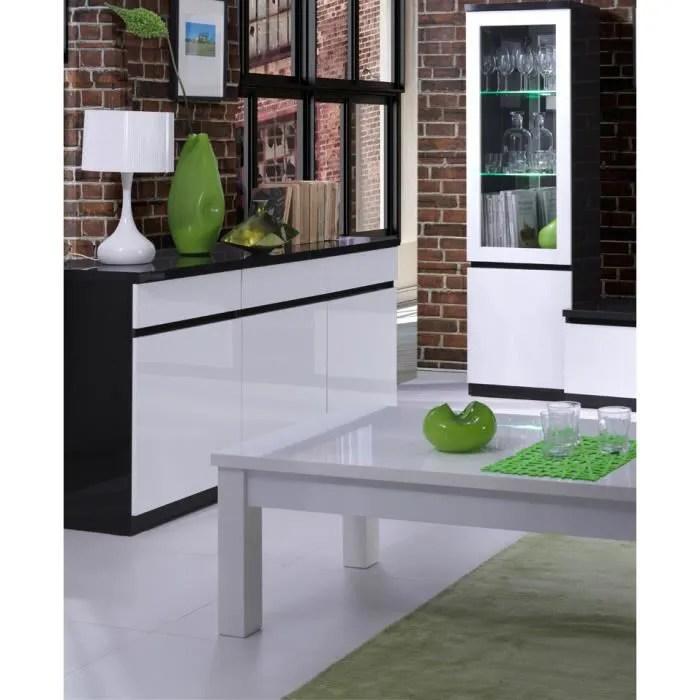 meuble blanc laque dans buffet et bahut