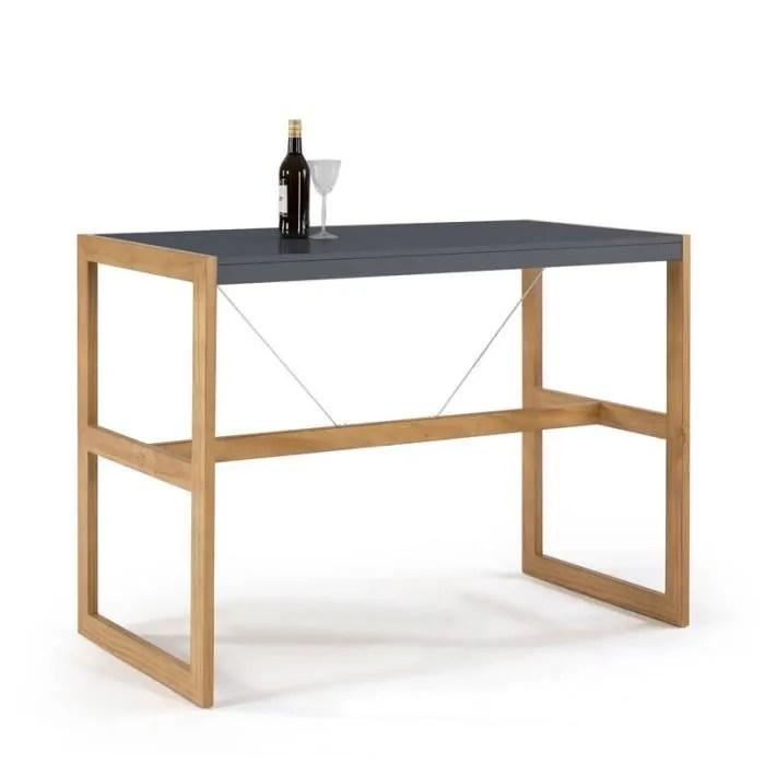 mange debout table haute rectangulaire