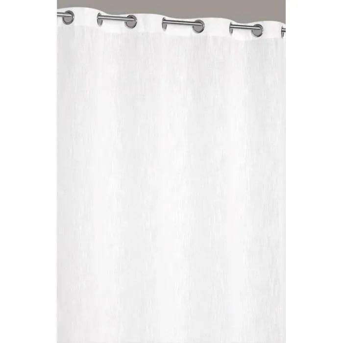rideau grande hauteur 140 x 280 cm aspect lin lour