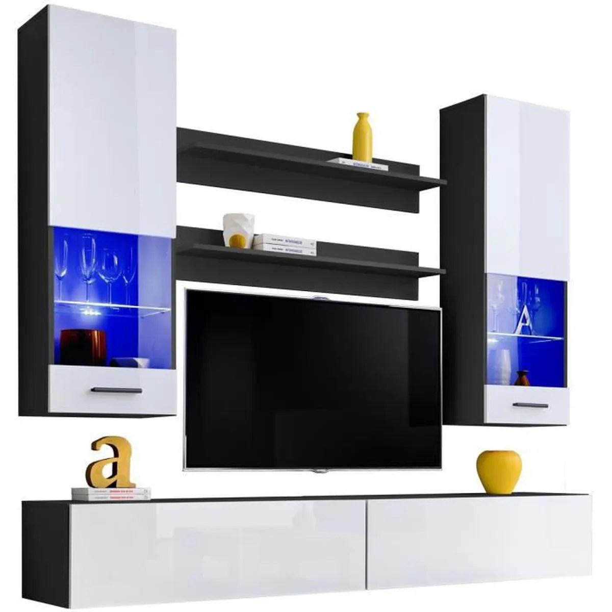 https www cdiscount com maison meubles mobilier extreme furniture meuble tv mural fly led bleues f 11760010502 auc2008561858601 html