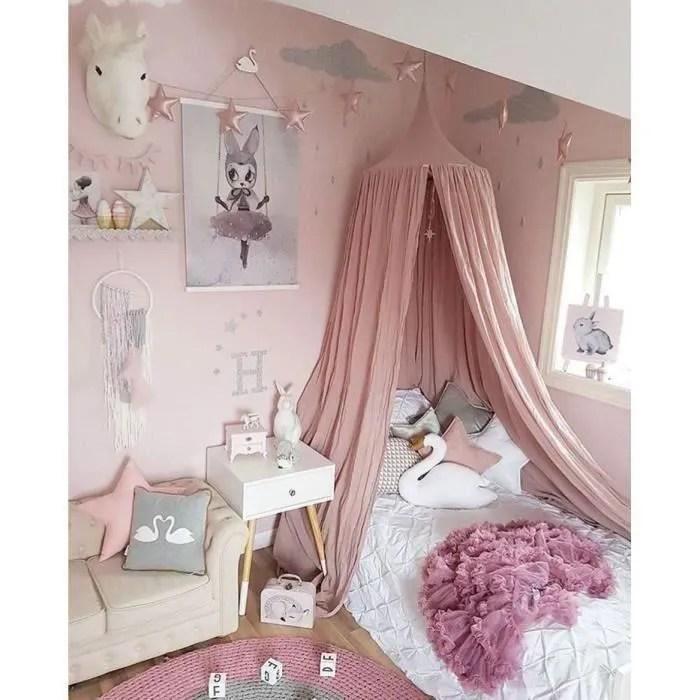 ciel de lit pour enfants baldaquin rideaux de lit