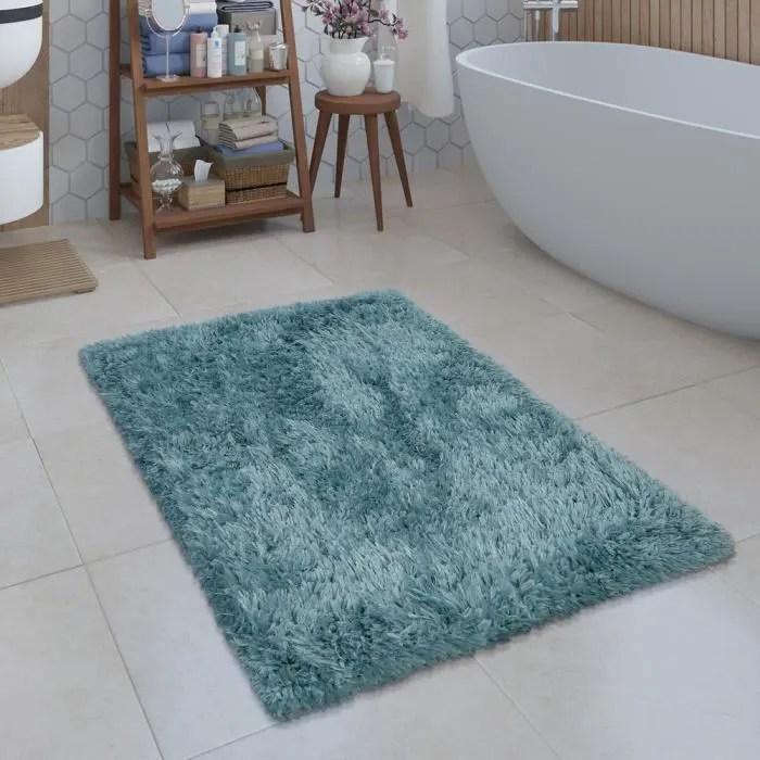 tapis de bain moderne salle de bain tapis shaggy m
