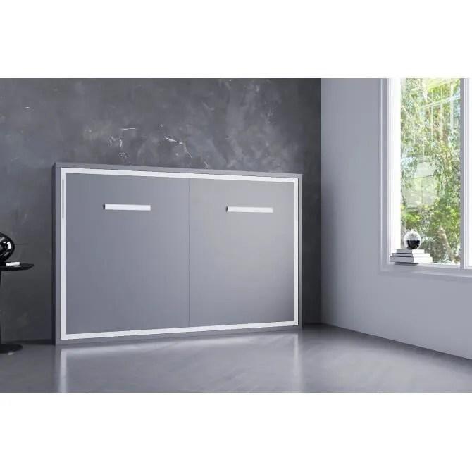 armoire lit escamotable joy horizontale