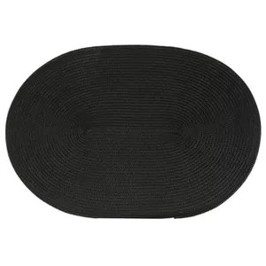 set de table ovale tresse