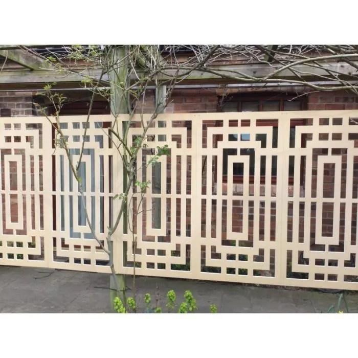 panneau decoratif exterieur labyrinthe l 600 mm