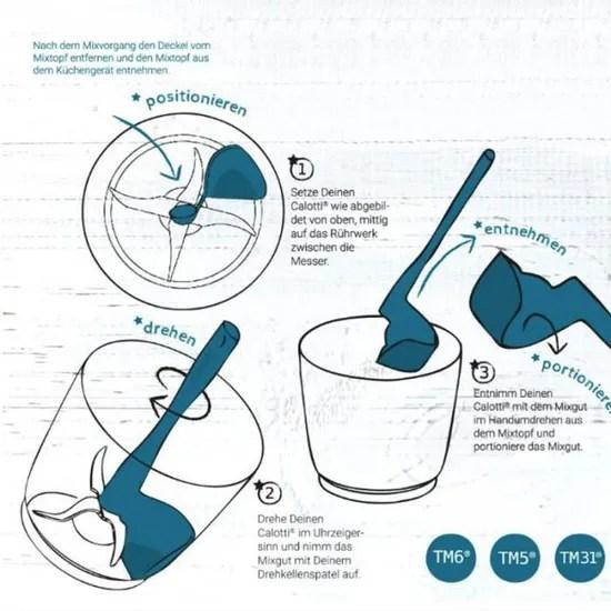 spatule rotative pour thermomix pour tm5 tm6 tm31 enlever l outil d accessoires de cuisine pour robot culinaire
