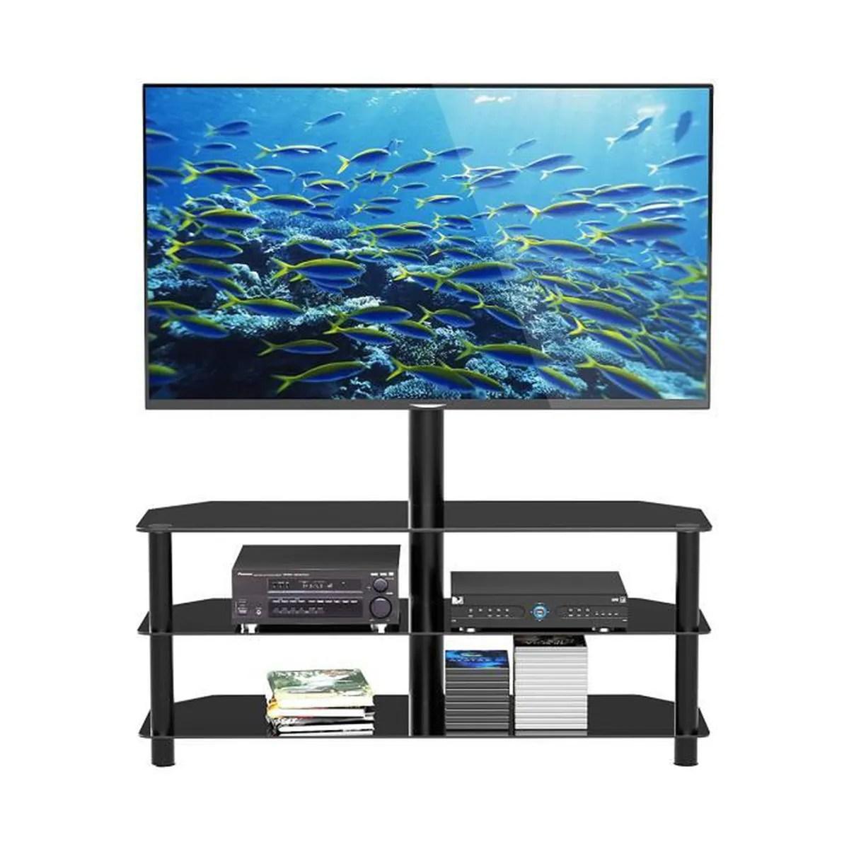 meuble tv multifonctionnel en verre