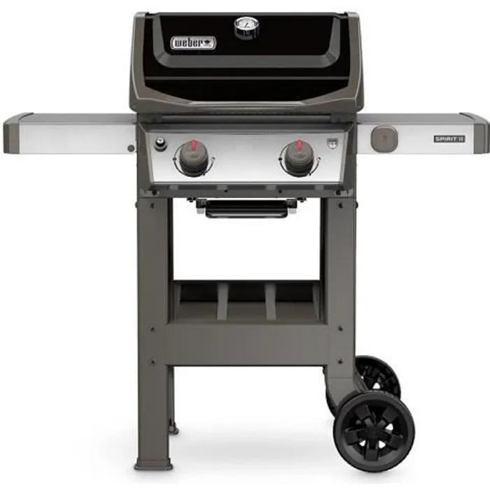 weber barbecue a gaz spirit ii e 210 gbs noir
