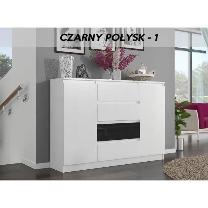porto w1 commode moderne meuble rangement 140x
