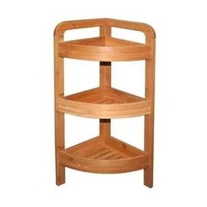 mini etagere dangle en bois de bambou