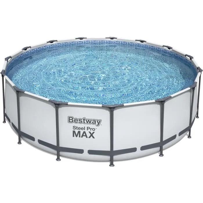 piscine acier ovale