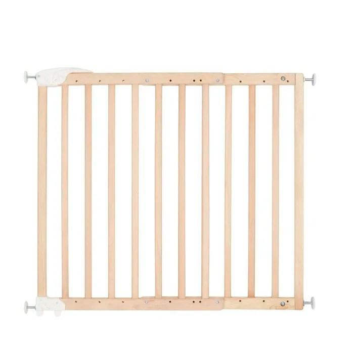 barriere securite en bois extensible