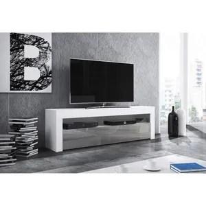 meuble tv led 160 cm