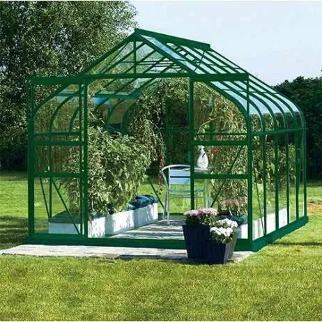 serre de jardin verre trempe