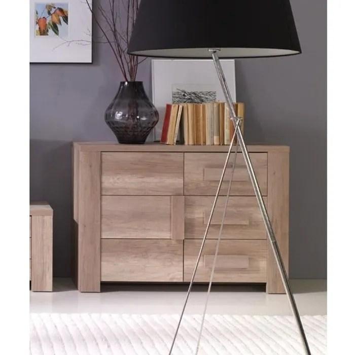 buffet bahut enfilade petit modele ferrara 1 porte 3 tiroirs meuble design et tendance pour votre salon ou salle a manger