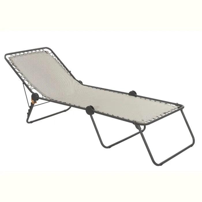 chaise longue paille osier fibre naturelle