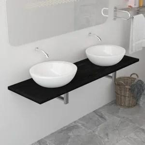 meuble d angle salle de bain avec lavabo