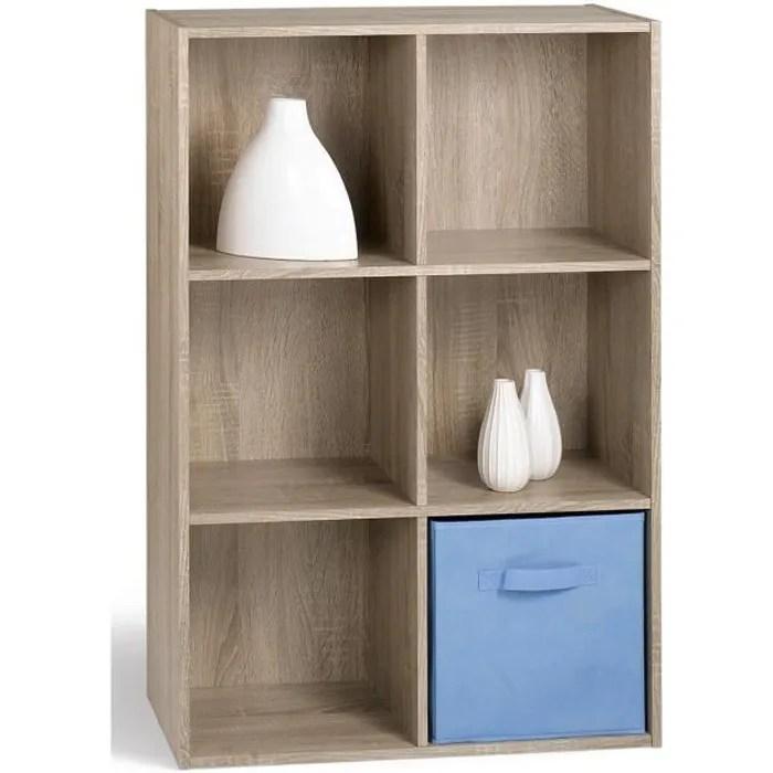 compo meuble de rangement contemporain decor chene