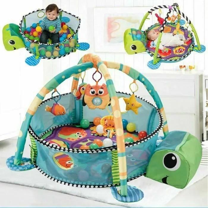 tapis de jeu des la naissance bebe mixte piscine