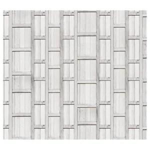 papier peint bois blanc