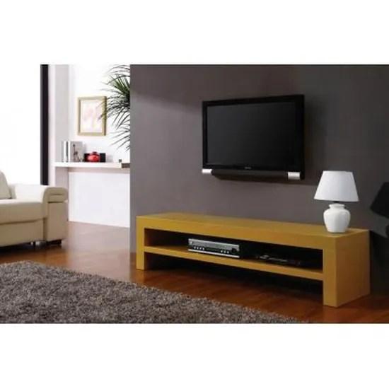 meuble tv baxter 1 niche mdf laque