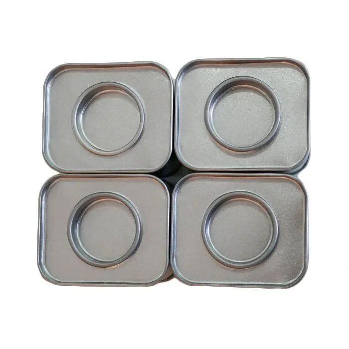 petite boite en metal rectangulaire