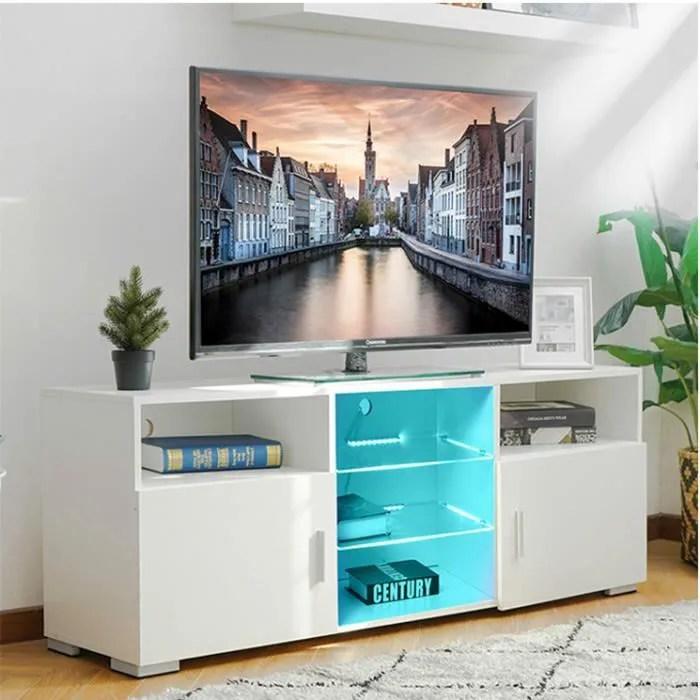 tempsa meuble tv led brillant
