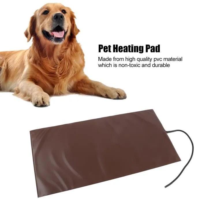 tapis chauffant pour chien de compagnie coussin de