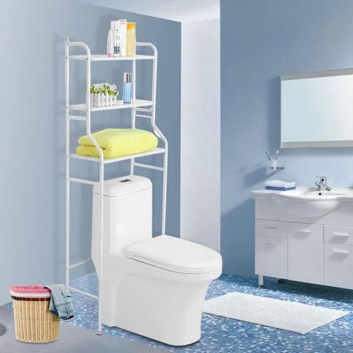 armoire wc meuble rangement de serviet