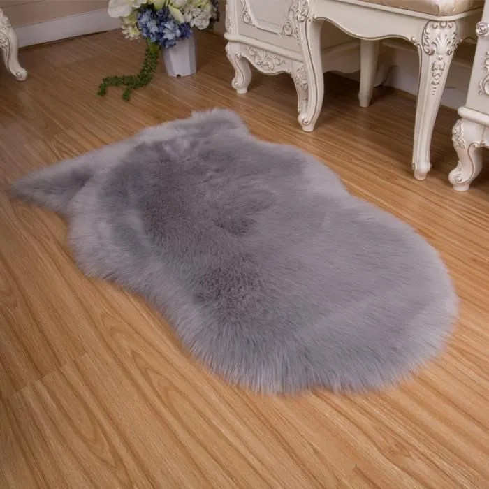 tapis salon carpet tapis chambre peau de mouton sy