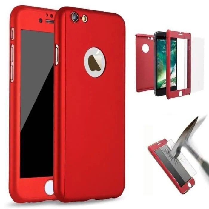 coque iphone 6 rouge achat vente