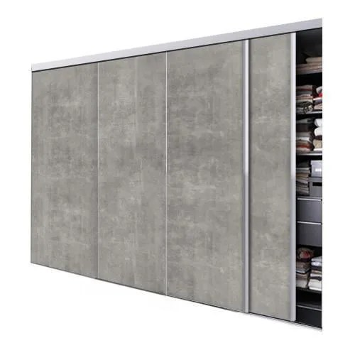 porte de placard coulissante beton 4