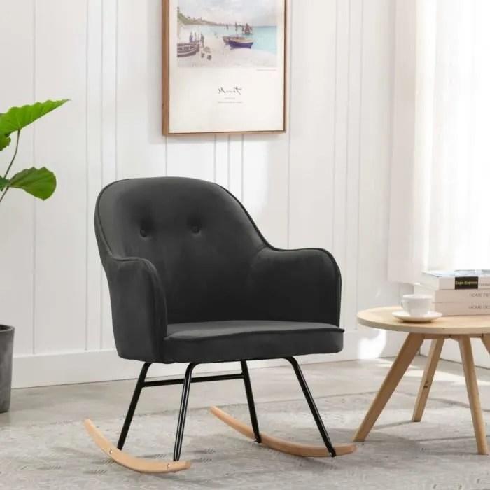chaise scandinave a bascule