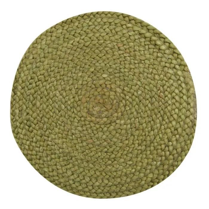 jute et coton tresse a la main tissu tapis tapis d